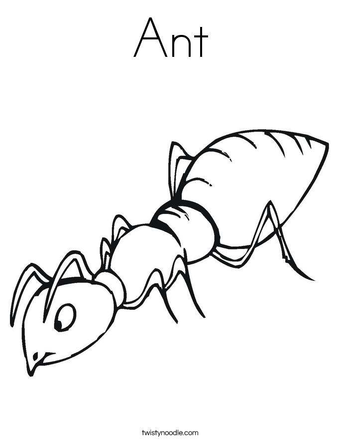 a for ant coloring pages ant line drawing at getdrawingscom free for personal a coloring for ant pages