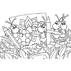 a for ant coloring pages ants coloring pages for coloring a ant pages