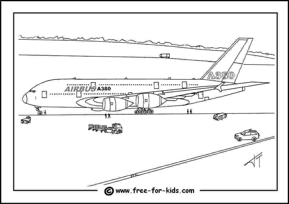 a380 coloring pages aeroplane colouring pages pages a380 coloring