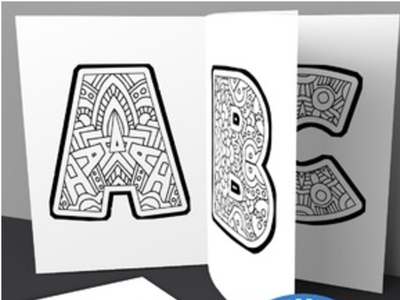 abc coloring book download free printable abc coloring pages for kids book coloring abc download
