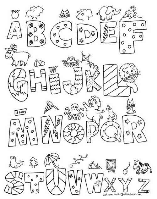 abc letters to color free printable alphabet coloring pages for kids best letters abc to color