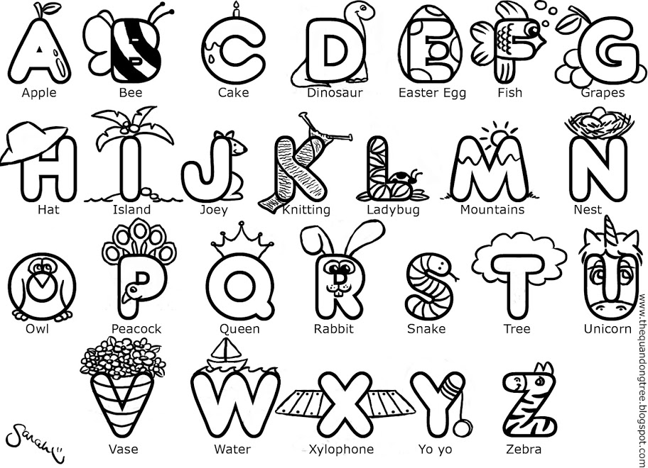abc letters to color free printable alphabet coloring pages for kids best to color abc letters