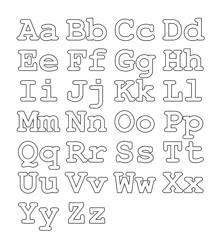 abc letters to color letter a alphabet coloring pages 3 free printable letters abc color to