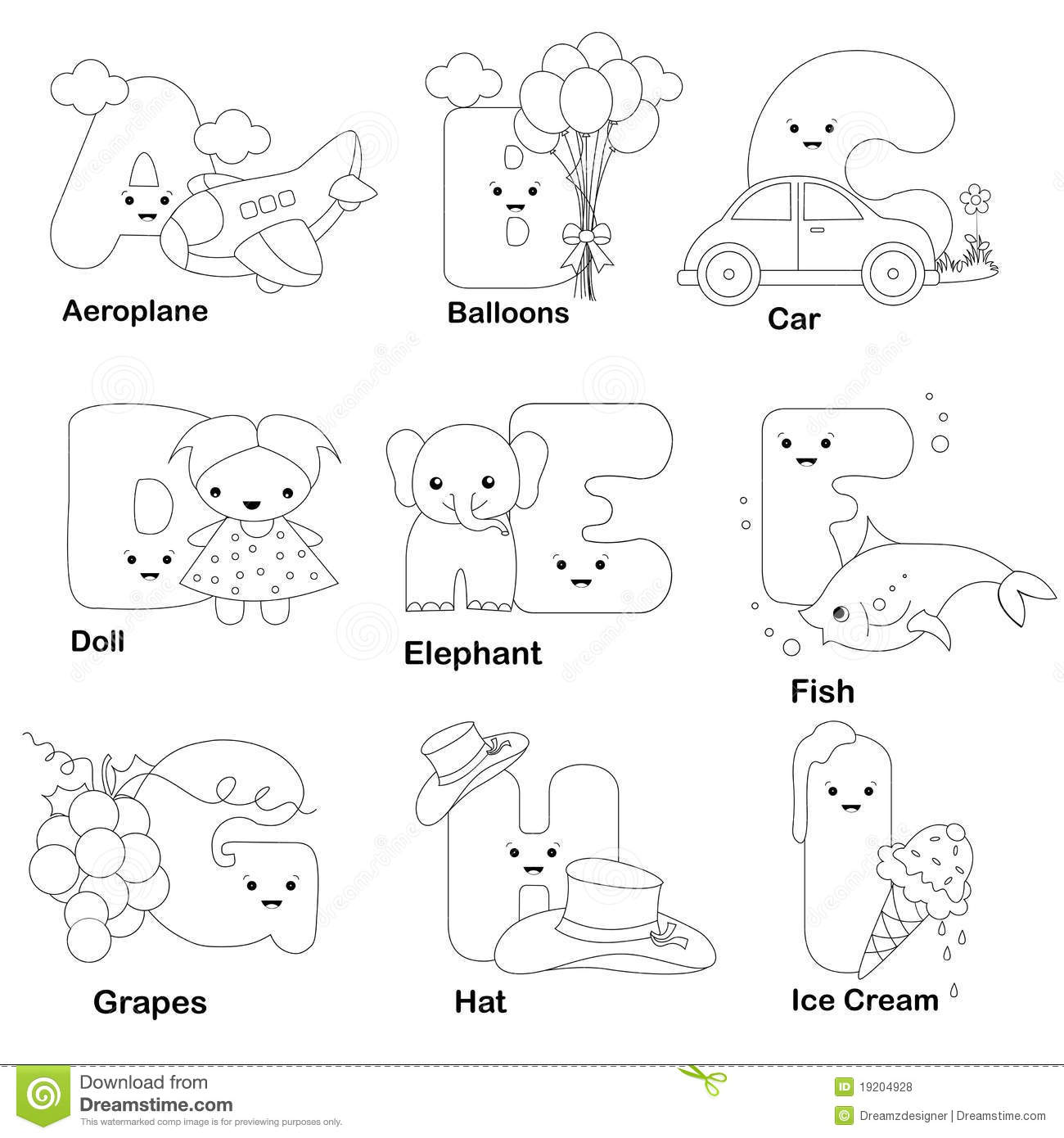 abc letters to color the quandong tree colouring pages color to letters abc