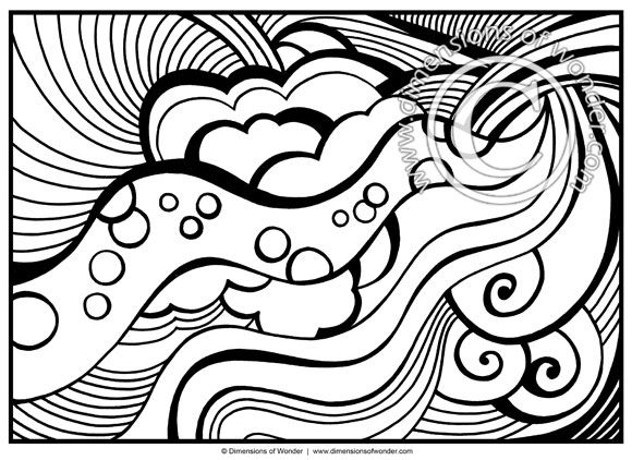 abstract coloring pages for kids acrylic and oil paintings by peter dranitsin free pages for abstract kids coloring