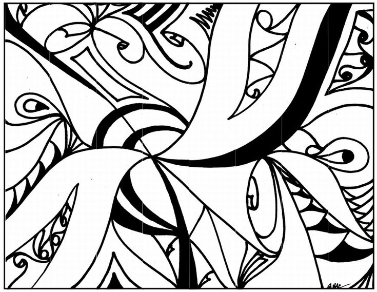 abstract coloring pages for kids free printable abstract coloring pages for kids coloring for kids pages abstract