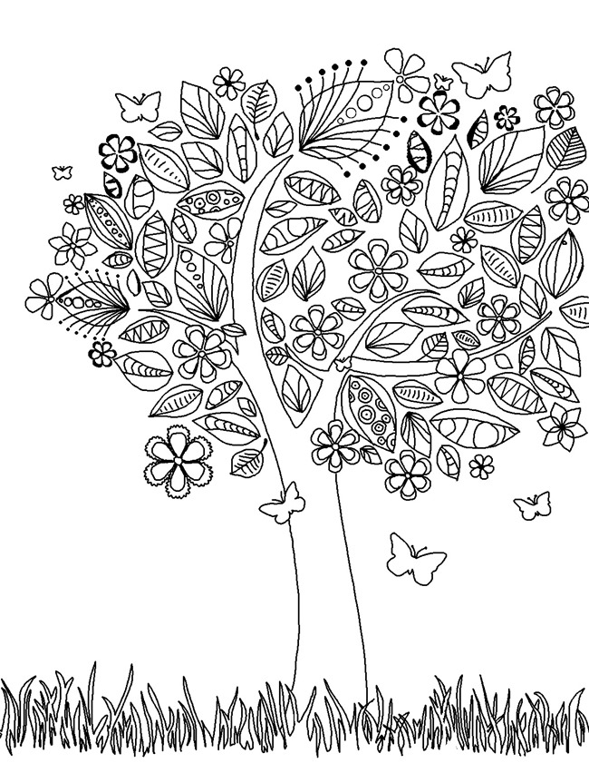 adult coloring page butterflies and bees adult coloring page favecraftscom adult page coloring