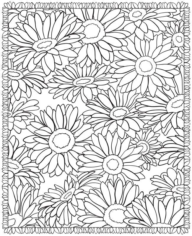 advanced flower coloring pages 1000 images about embroidery patterns on pinterest pages flower advanced coloring