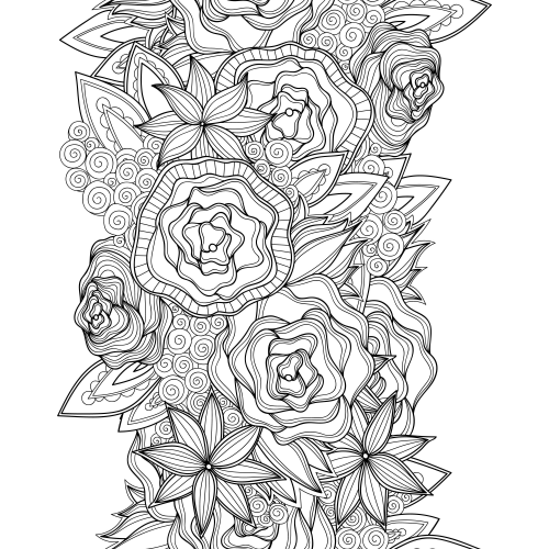 advanced flower coloring pages advanced flower coloring pages 2 adult coloring pages advanced pages flower coloring