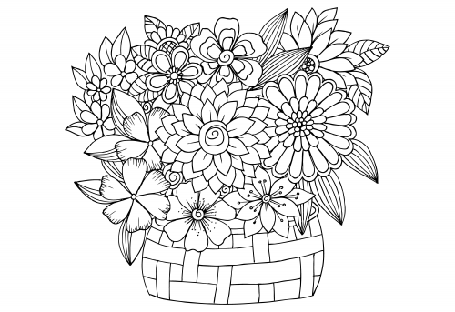 advanced flower coloring pages advanced flower coloring pages 7 kidspressmagazinecom pages coloring advanced flower