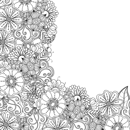advanced flower coloring pages advanced flower coloring pages flower coloring page advanced coloring pages flower
