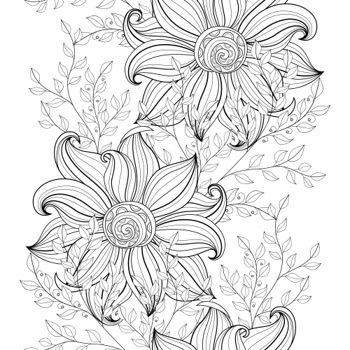 advanced flower coloring pages advanced pages flowers coloring pages coloring advanced pages flower