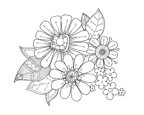 advanced flower coloring pages flower advanced coloring pages 14 coloring pages pages coloring advanced flower
