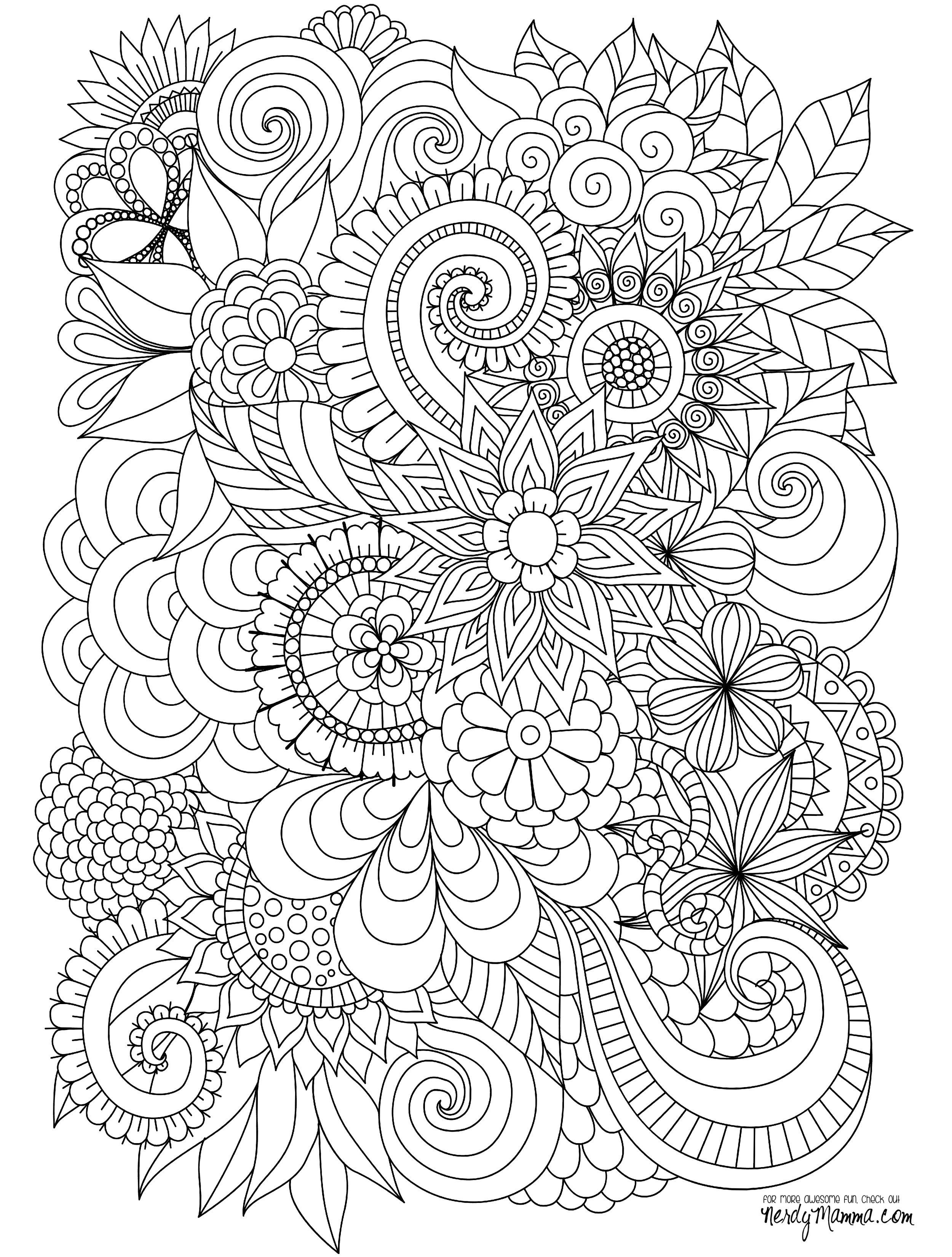 advanced flower coloring pages flower page printable coloring sheets to see more flower flower pages coloring advanced