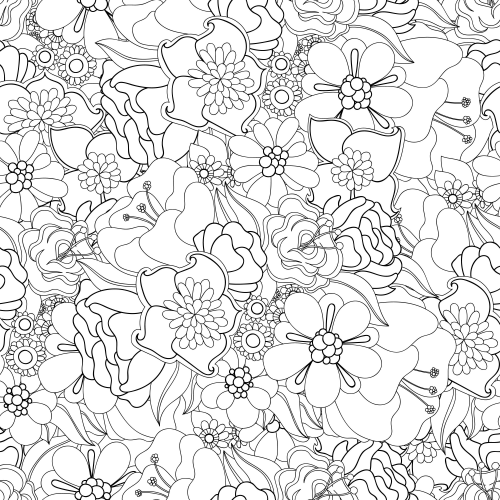 advanced flower coloring pages flowers advanced coloring pages 20 kidspressmagazinecom coloring pages advanced flower