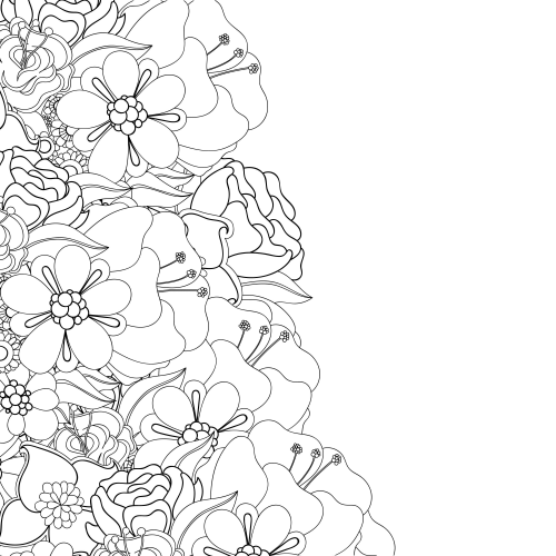 advanced flower coloring pages love coloring pages for adults httpeast colorcom coloring advanced pages flower