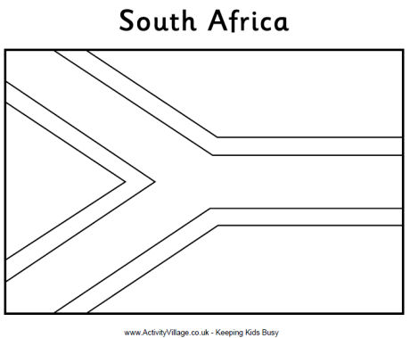 africa flag coloring page south africa flag coloring page africa page coloring flag