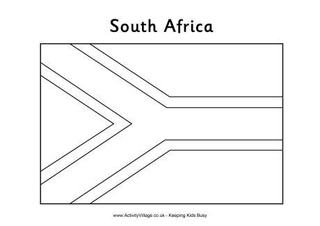 africa flag coloring page south african flag colouring page flag coloring pages flag africa page coloring