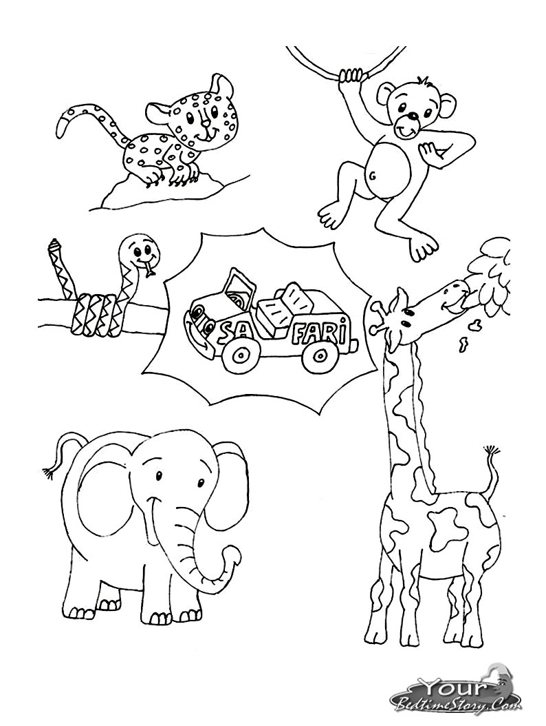 african animals coloring pages to print african safari animals coloring pages at getcoloringscom animals print african to coloring pages