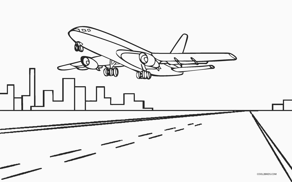 airplane coloring page free printable airplane coloring pages for kids cool2bkids airplane page coloring 1 1