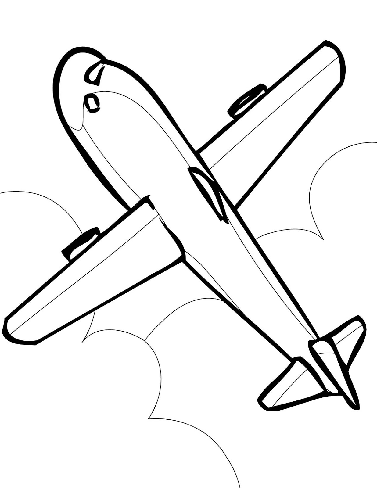 airplane coloring page jet airplane coloring page free printable coloring pages page coloring airplane