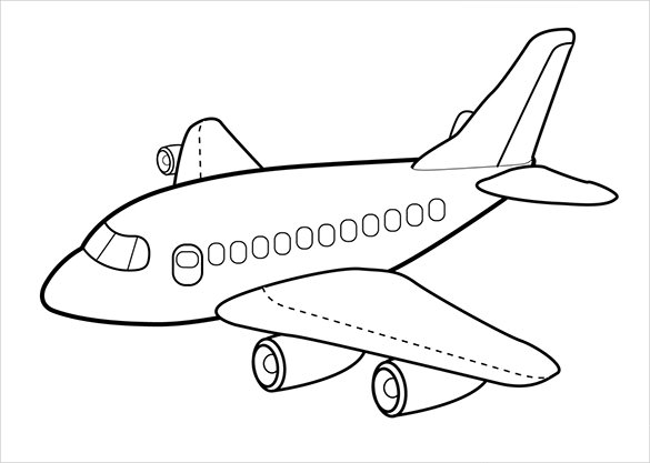 airplane coloring page print download the sophisticated transportation of airplane coloring page