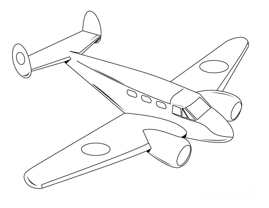 airplane coloring sheets free printable airplane coloring pages for kids cool2bkids sheets coloring airplane