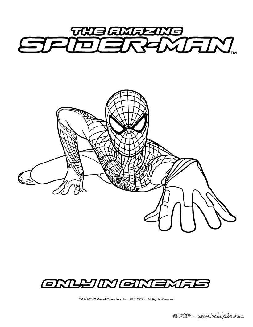 amazing spider man coloring pages amazing spider man coloring pages coloring pages to pages spider man amazing coloring