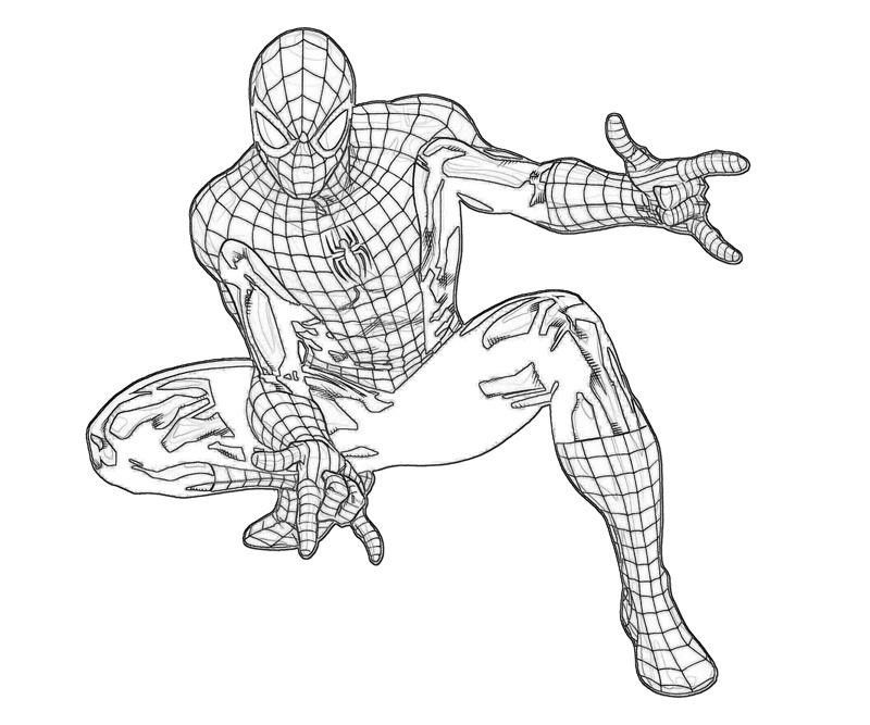 amazing spider man coloring pages coloring pages spiderman free printable coloring pages pages man spider amazing coloring