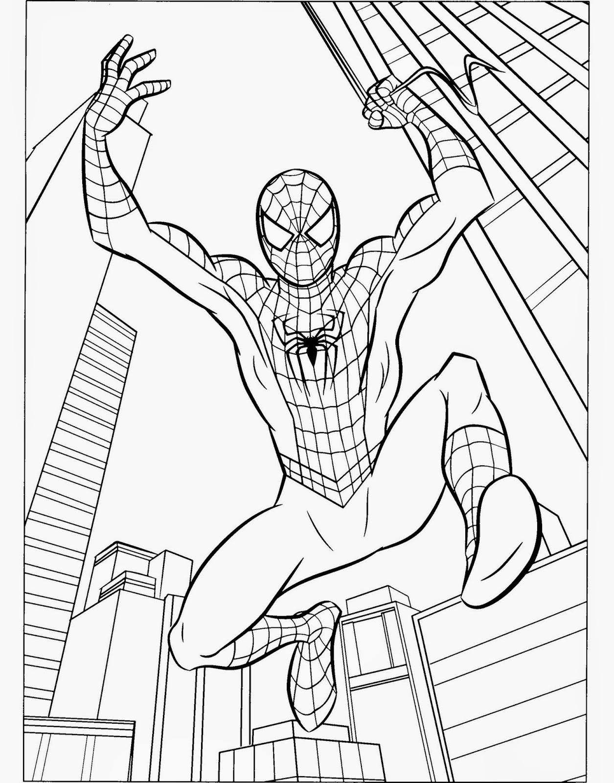amazing spider man coloring pages spiderman 3 coloring pages coloringpages1001com spider pages man amazing coloring