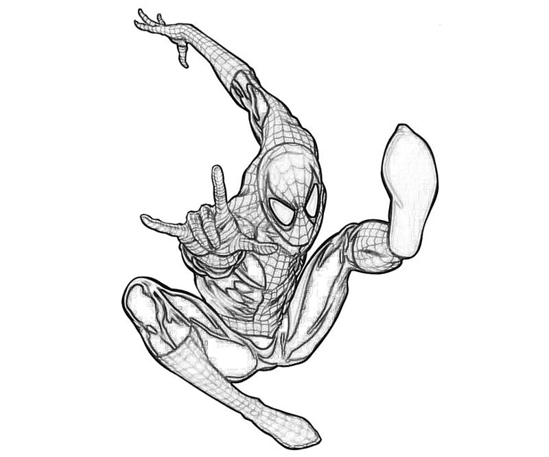 amazing spider man coloring pages the amazing spider man color pages pages amazing man spider coloring