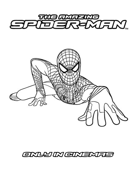 amazing spider man coloring pages the amazing spider man coloring pages spiderman color coloring pages man amazing spider