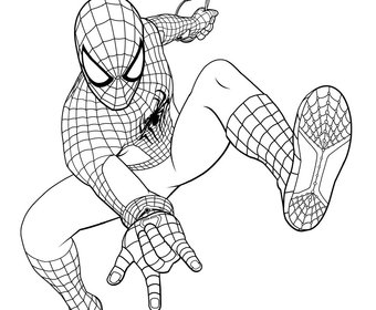 amazing spiderman 2 coloring pages the amazing spider man drawing at getdrawingscom free spiderman amazing coloring 2 pages