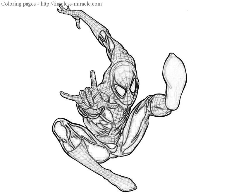 amazing spiderman 2 coloring pages the amazing spider man iguana terror yumiko fujiwara coloring 2 amazing spiderman pages