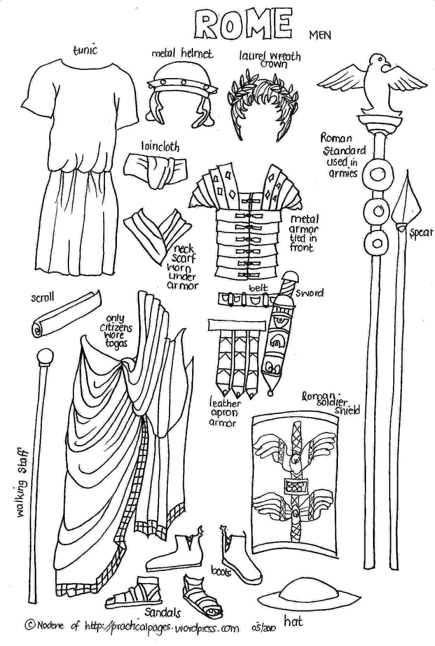 ancient rome coloring pages constantine the great coloring page free printable coloring rome ancient pages