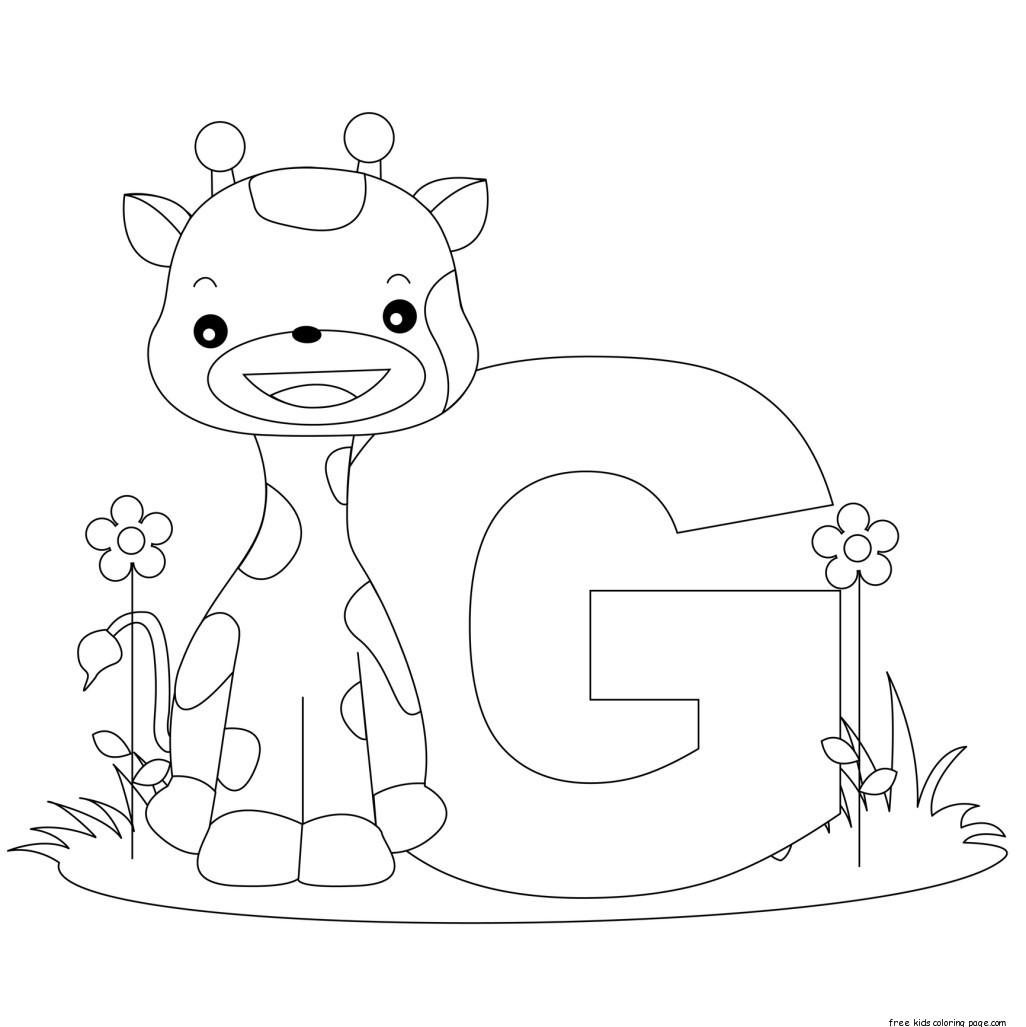 animal alphabet colouring pages free printable alphabet coloring pages for kids best colouring alphabet pages animal