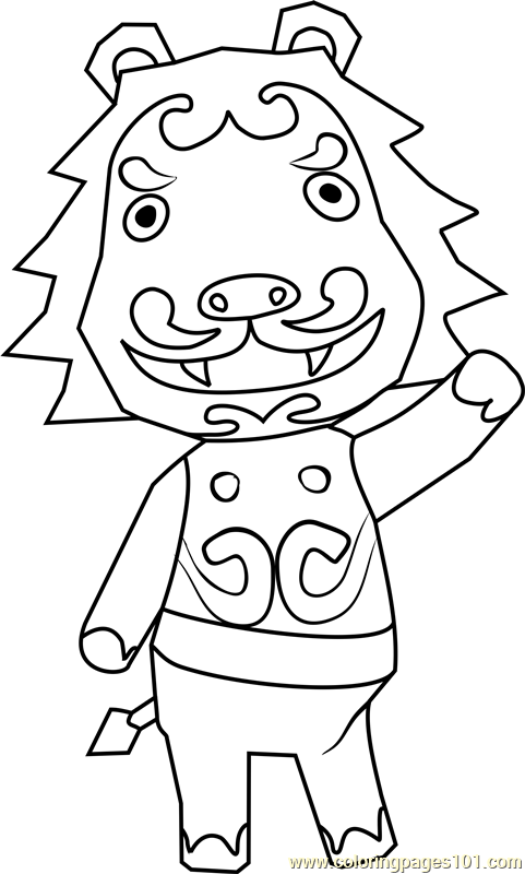 animal coloring pages online games rory animal crossing coloring page free animal crossing animal games online pages coloring