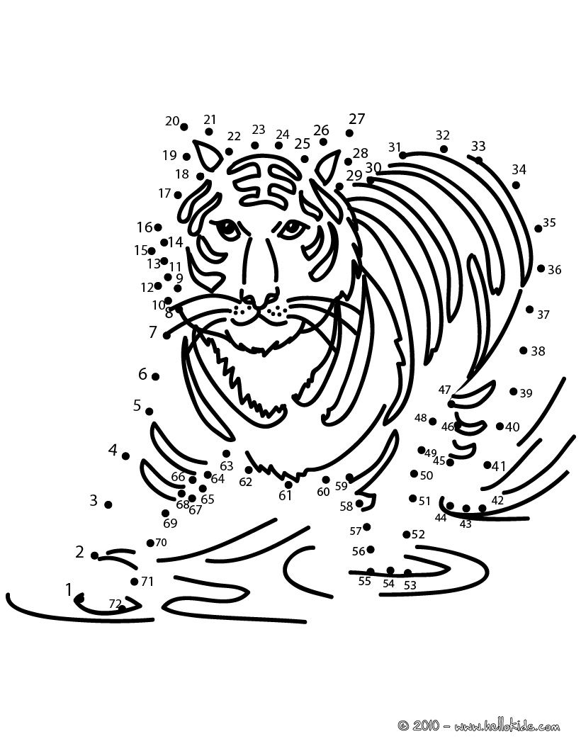 animal coloring pages online games tiger dot to dot game printable connect the dots game pages animal games coloring online