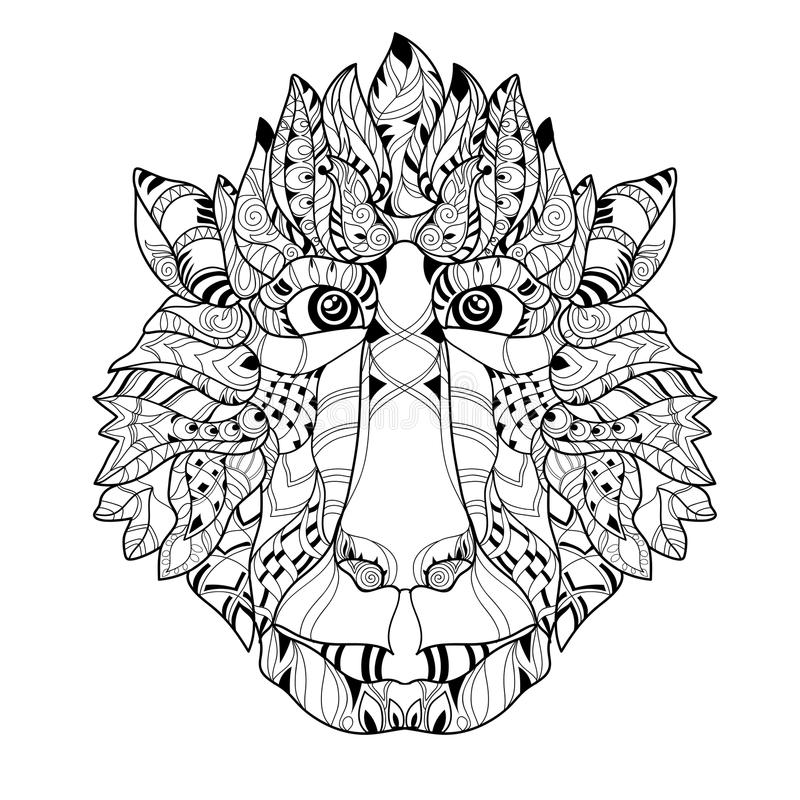 animal head coloring pages other animals coloring pages pages coloring animal head