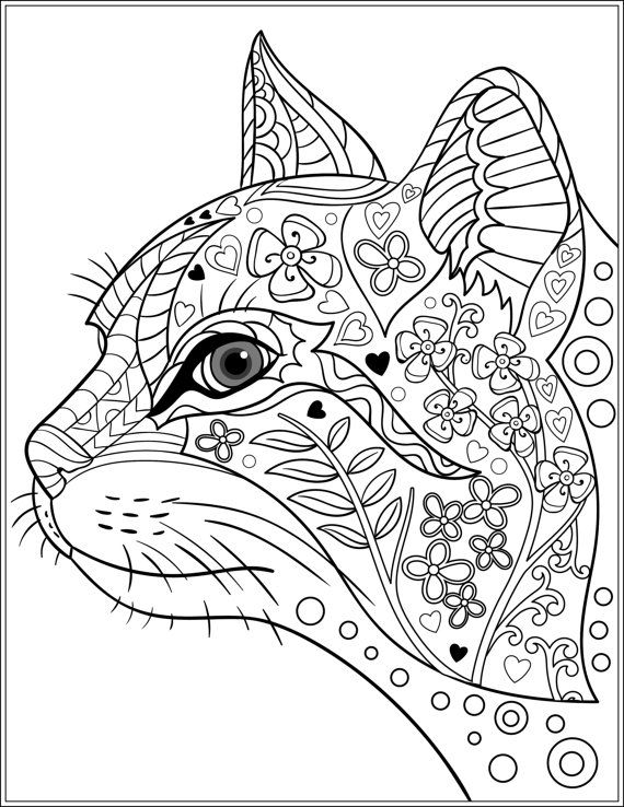 animal pattern colourings 713 best images about doodle art with cats on pinterest pattern animal colourings