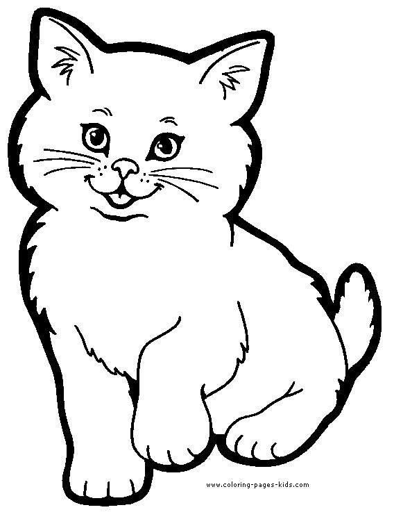 animal pictures to color cat color page animal coloring pages color plate pictures animal to color