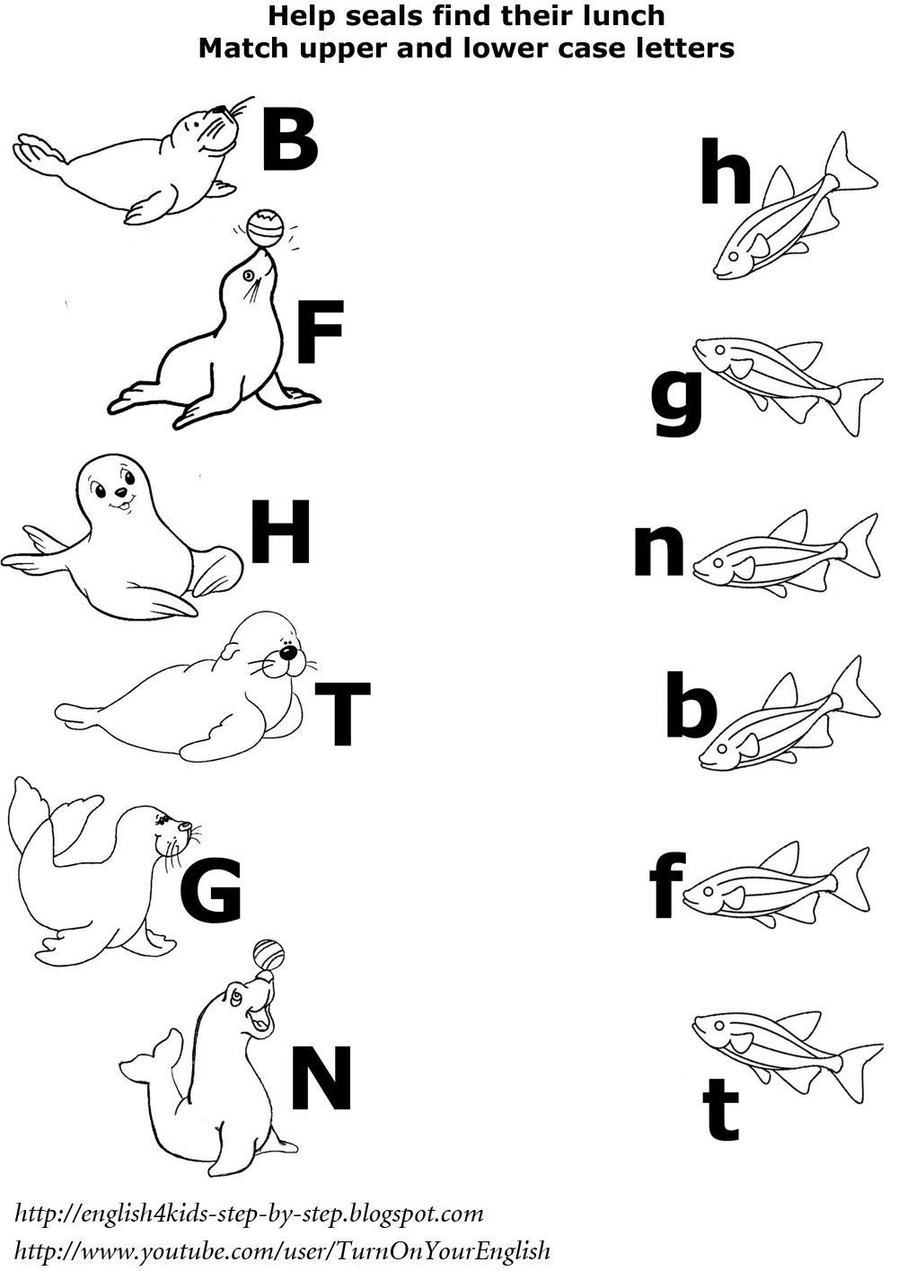 animal printables for kindergarten arctic animals matching upper and lower case letters printables animal for kindergarten