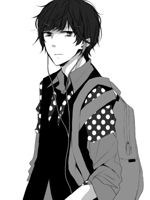 anime boy handsome like hell we heart it manga anime and boy boy anime