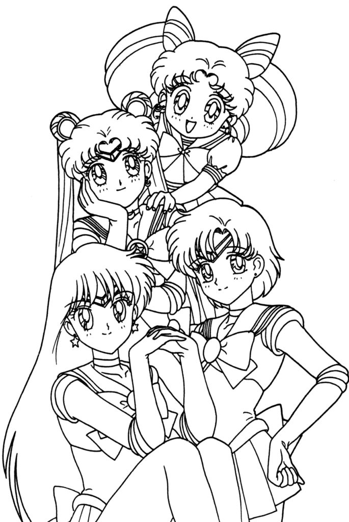 anime color page anime coloring pages best coloring pages for kids color page anime