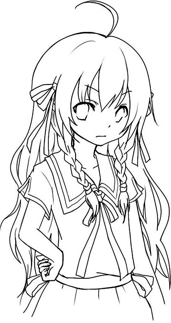 anime color page anime coloring pages getcoloringpagescom color anime page