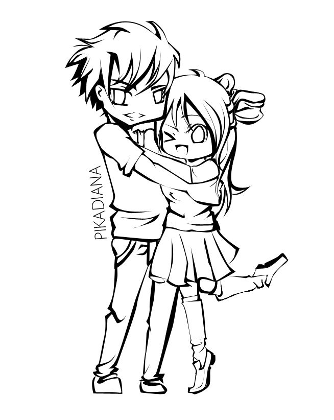 anime couple coloring pages to print anime coloring pages best coloring pages for kids couple anime pages print coloring to