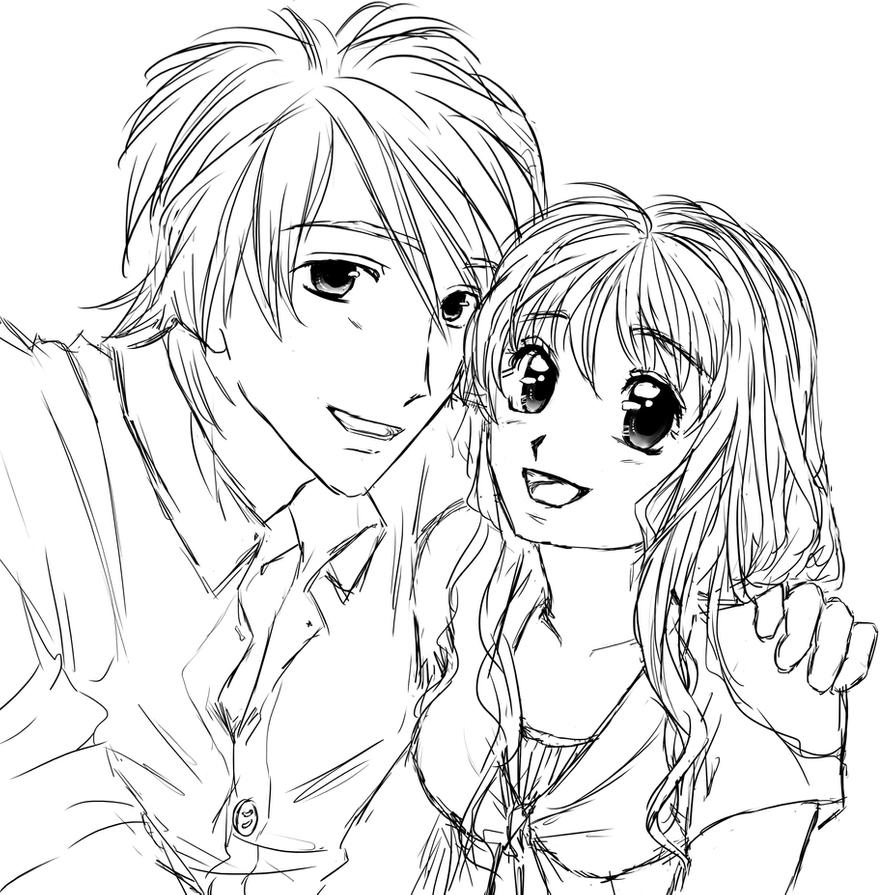 anime couple coloring pages to print anime couple coloring pages coloring pages to download couple coloring print to pages anime