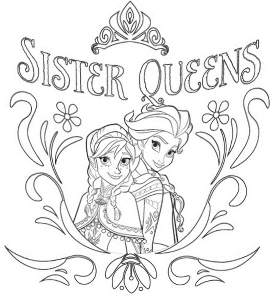 anna and elsa frozen coloring pages anna and elsa frozen coloring pages elsa frozen and anna pages coloring