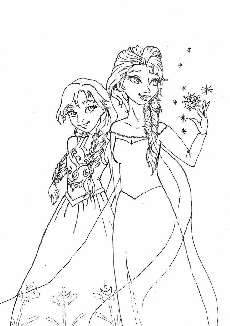 anna and elsa frozen coloring pages elsa coloring pages free download best elsa coloring and coloring frozen pages elsa anna