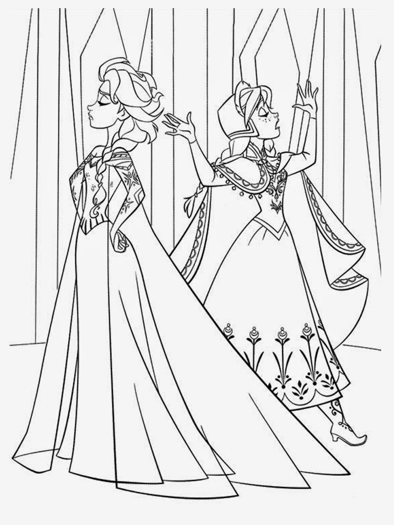 anna and elsa frozen coloring pages free printable coloring pages elsa and anna 2015 frozen pages elsa and anna coloring
